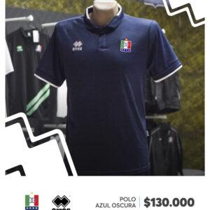 0da8cc5575d99 Camiseta Polo Azul Oscuro